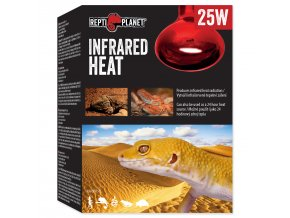 Žárovka REPTI PLANET Infrared HEAT (25W)