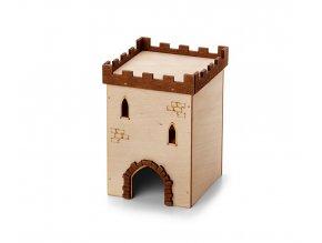 33014 jk animals dreveny domek hrad c 1 krecek 9 9 14 cm 1