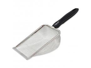 Lopatka pro snadné čištění terarijního písku. Velikost: 29 x 10,4 x 6,4 cm.