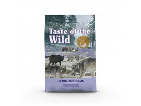 Taste of the Wild Sierra Mountain Canine 2 x 12,2kg