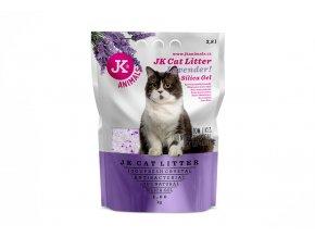59141 3 jk animals cat litter lavender silica gel 1 6 kg 3 8 l 1
