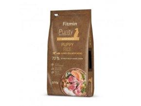 Fitmin Purity Puppy Lamb & Salmon Rice kompletní krmivo pro psy 12 kg