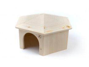 32428 jk animals dreveny domecek jurta kralik 1