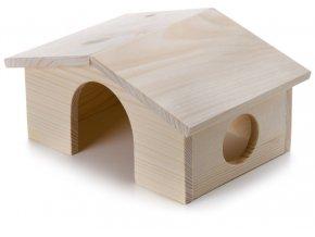32430 jk animals drevene domky masiv pro hlodavce morce 22 15 11 cm 1
