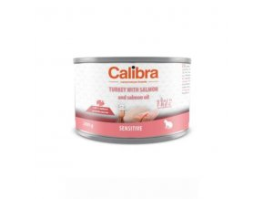calibra cat konzsensitive kruta a losos 200g