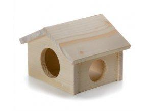 32431 jk animals drevene domky masiv pro hlodavce krecek 11 5 10 9 5 cm 1