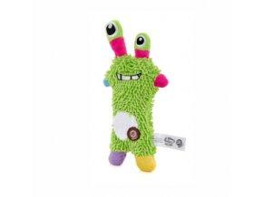 46105 1 jk animals plysova hracka monster mop 28 cm zeleny 0