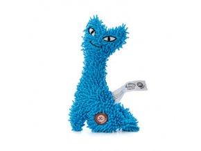 46108 2 jk animals plysova hracka kocka 23 cm modra 0