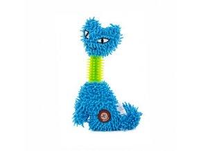 46107 1 jk animals plysova hracka kocka mop tpr krk 23 cm modra 0