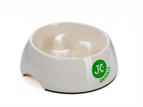 48337 jk animals plastova miska proti hltani pro psa mala pr 11 cm 1