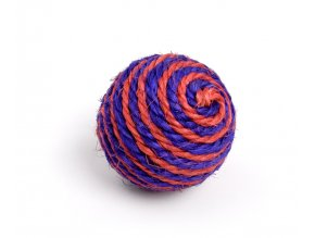 58656 jk animals hracka sisalova chrastici koule 6 cm 1