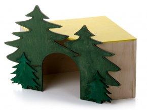 33040 jk animals dreveny rohovy domek les c 3 kralik 1