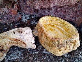TeraZOO natur miska hluboká 14cm