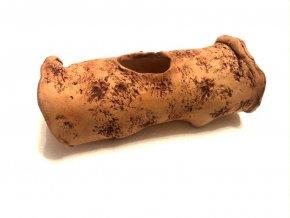 TeraZOO natur keramický úkryt kořen 20cm