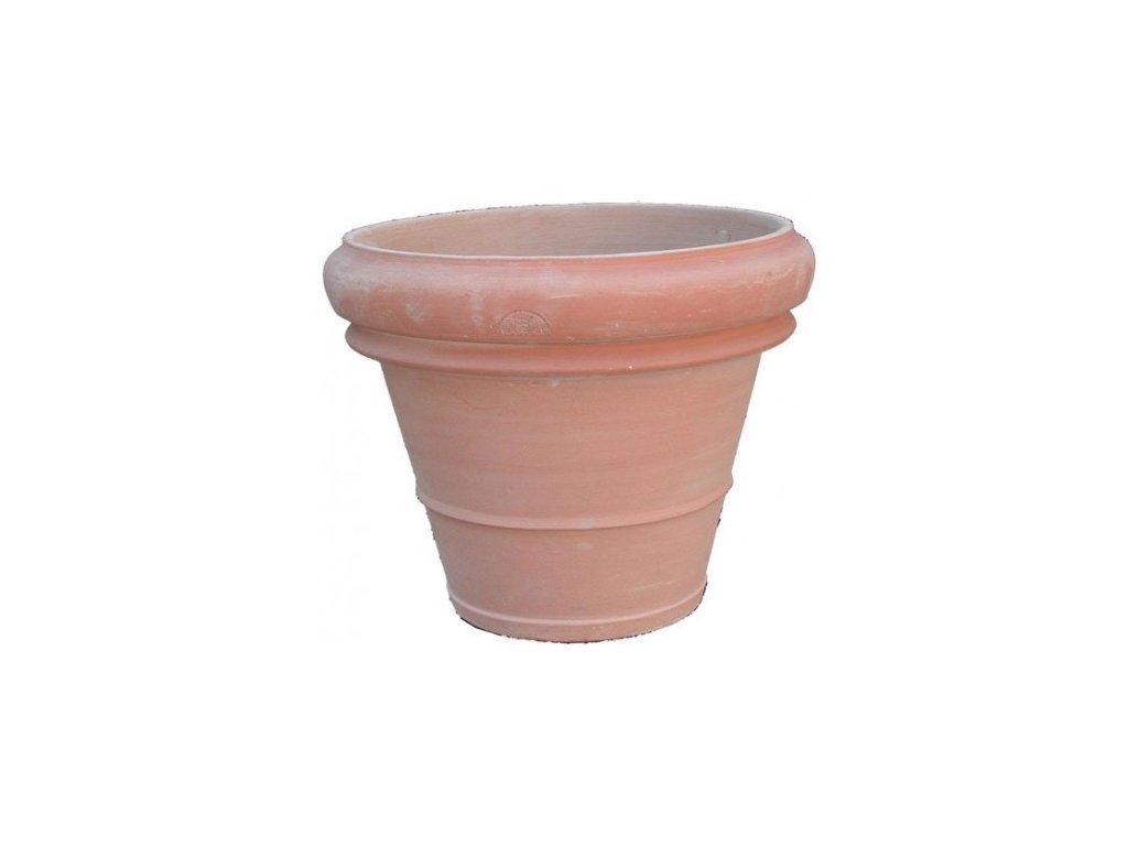 Terakotovy květináč Vaso  A-VAL45