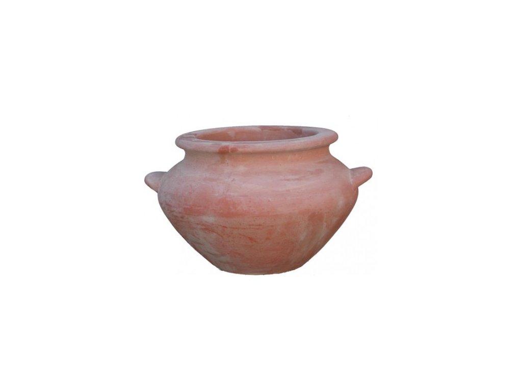 Terakotovy květináč Vaso Etrusco A-VA36