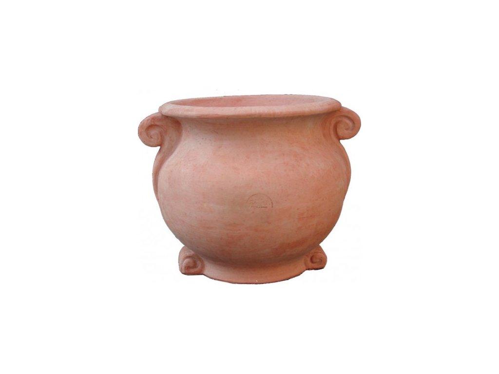 Terakotovy květináč Vaso Etrusco A-VA52