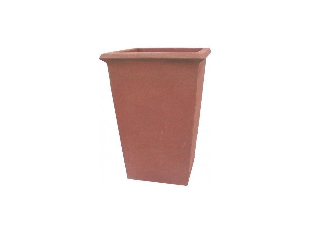 terakotová zahradní nádoba