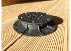Rektifikační terče pro dřevěnou terasu nebo dlažbu