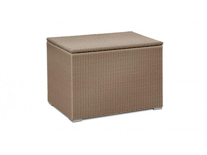 Ratanový zahradní nábytek Úložný box caramel XL