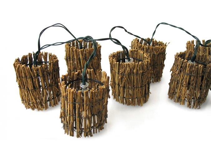 Světelný řetěz - bambusový