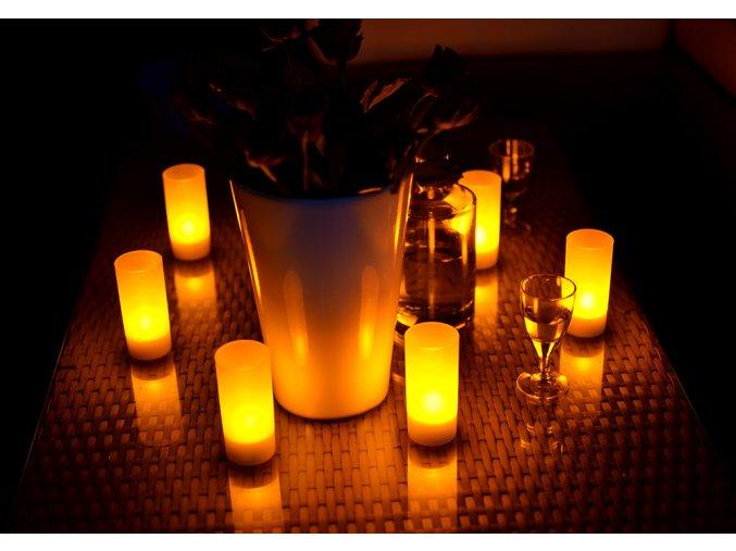 LED svíčky čajové