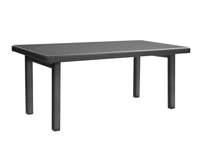 Ratanový zahradní nábytek Stůl nero  - pro 8