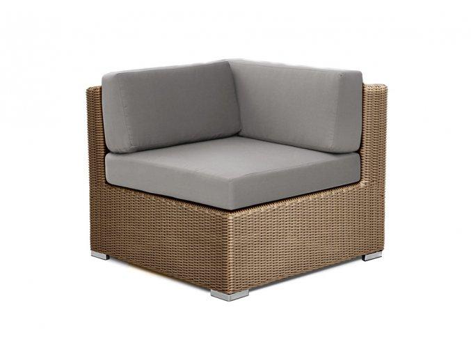 Ratanový zahradní nábytek křeslo XL
