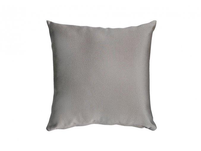 Polštář stříbrošedý