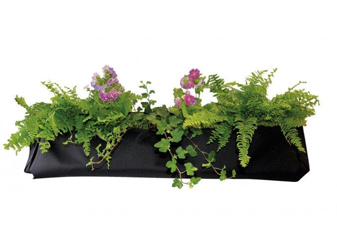 Ratanový zahradní nábytek Textilní květináč velký - Výhodný set SET 2+2