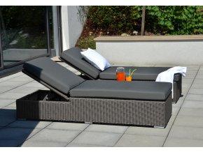 Ratanový zahradní nábytek Lehátka Bikini Savana