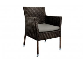 Ratanový zahradní nábytek Židle Macao choco