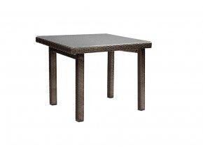 Ratanový zahradní nábytek Stůl choco - pro 4
