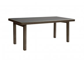 Ratanový zahradní nábytek Stůl choco  - pro 6 lidí