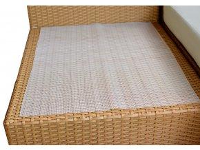 Ratanový zahradní nábytek doplňky Protiskluzové podložky (2ks)