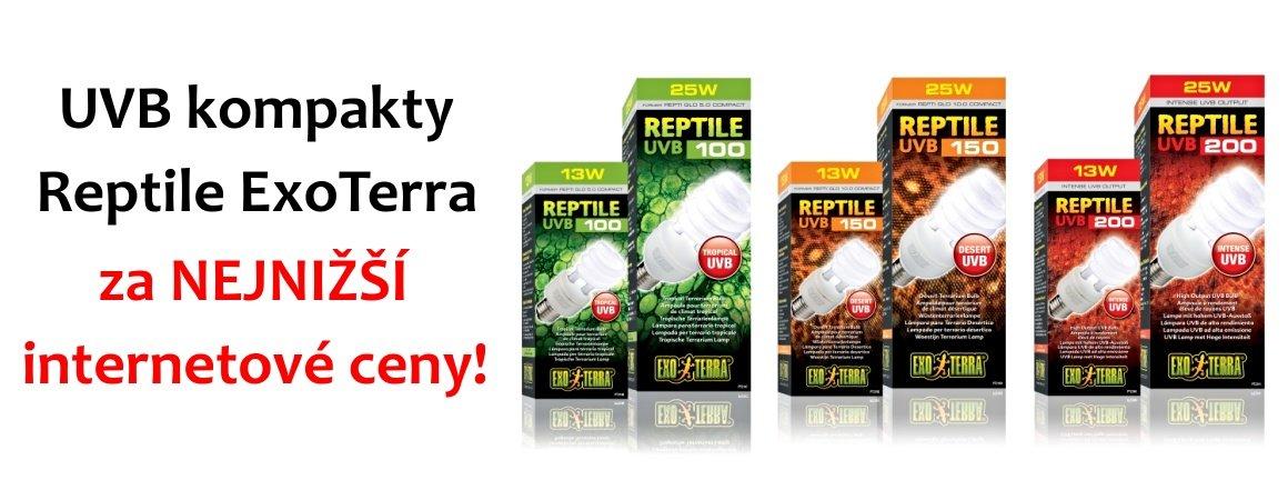 Reptile UVB za nejnižší ceny na internetu!