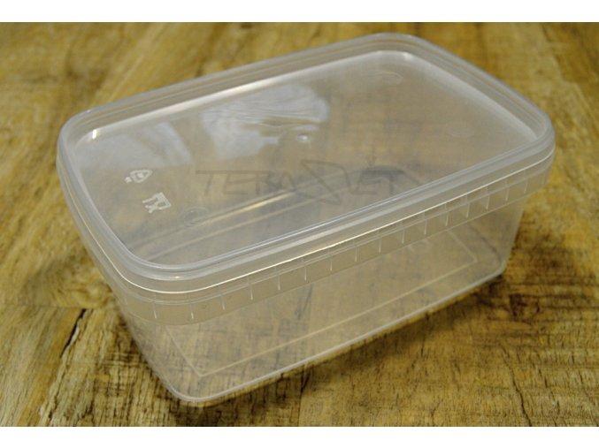 plastová krabička 1 L průhledná