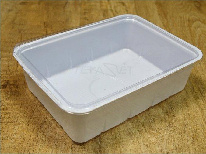 plastová krabička 1L bílá