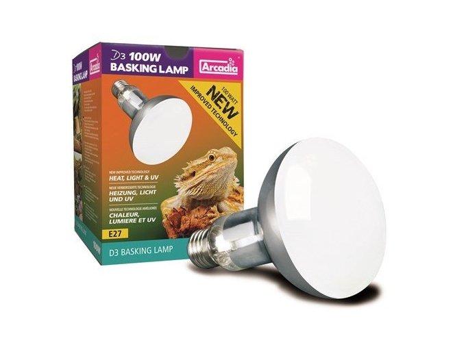 Arcadia D3 Basking Lamp 100 w