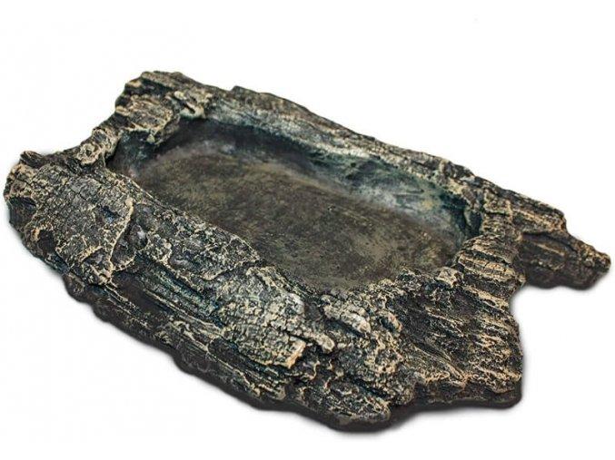 Komodo Miska terarijní kůra S 17,5 x 13,5 x 3 cm