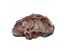 Komodo Miska terarijní terasovitá hnědá S 18,5 x 15x5 x 4 cm (2)