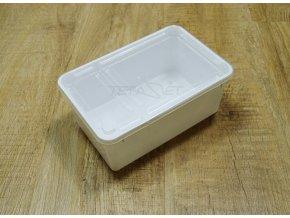 krabička bílá 1,3l