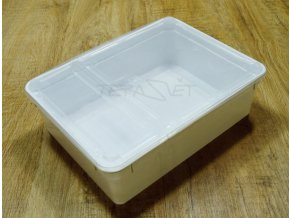 plastová krabička 1,3 L bílá