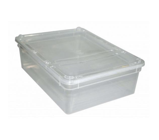 BraPlast plastové terárium střední 24,5x18,5x7,5 cm, 3 l
