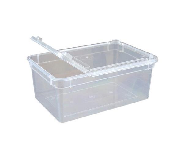 BraPlast plastové terárium malé 18,5x12,5x7,5 cm, 1,3 l