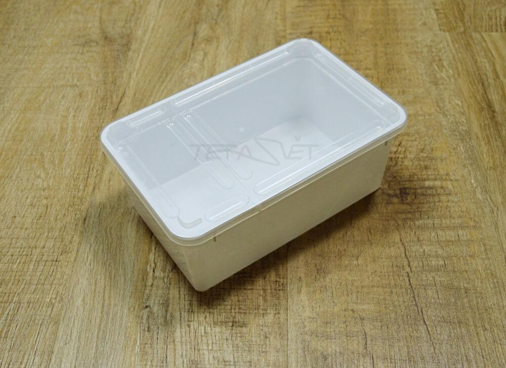 Plastová dóza 1,3 L bílá