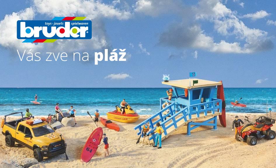 bruder novinky 2021 pláž