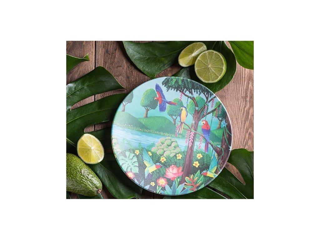 Tommy Lise 701210 Bird Paradise Bambusový talíř