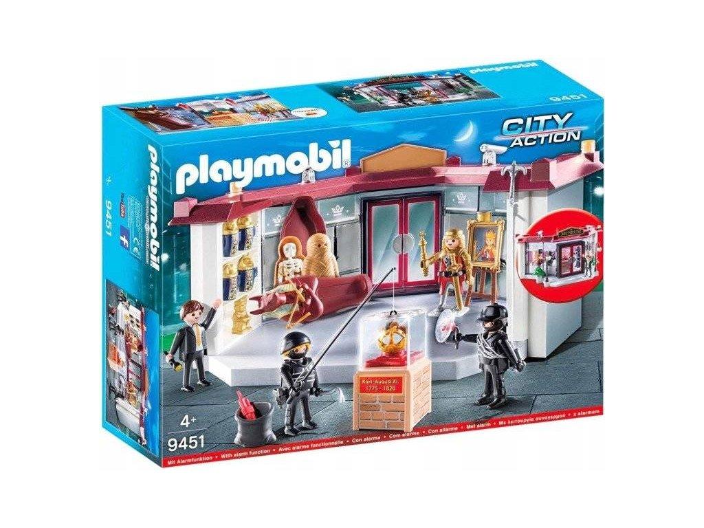 Playmobil 9451 LOUPEŽ V MUZEU