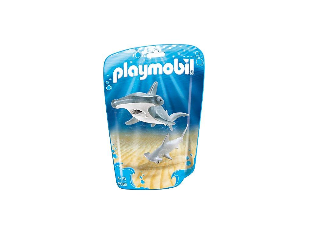 Playmobil 9065 Žralok kladivoun s mláďetem